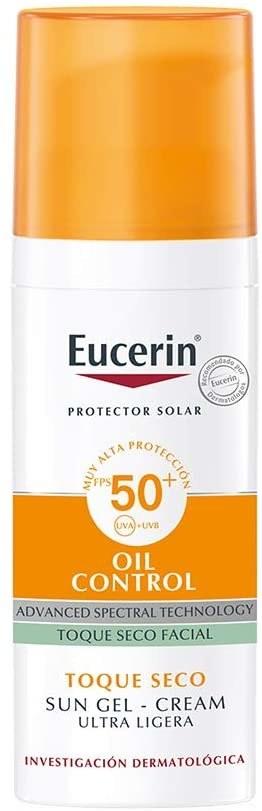 Protector solar con efecto matificante