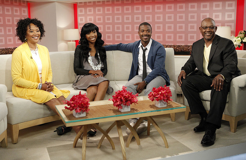 Ray J and Sonja and Willie Norwood
