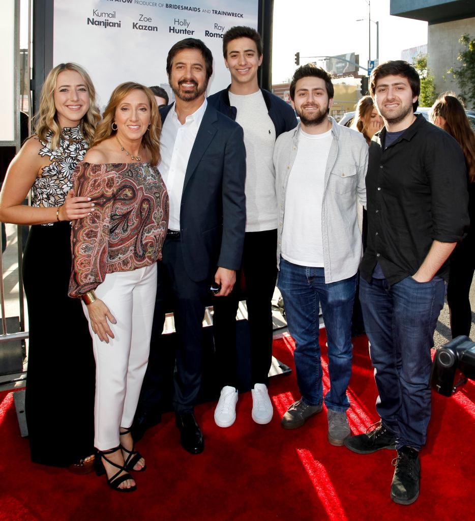 his wifeAnna Scarpulla and their four kids