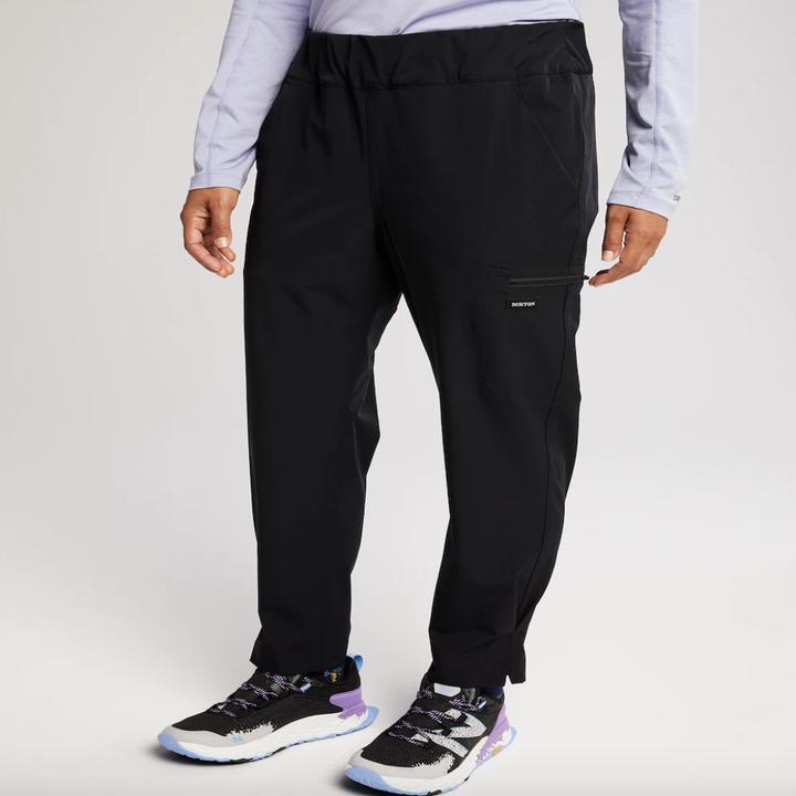 the pants closeup in black