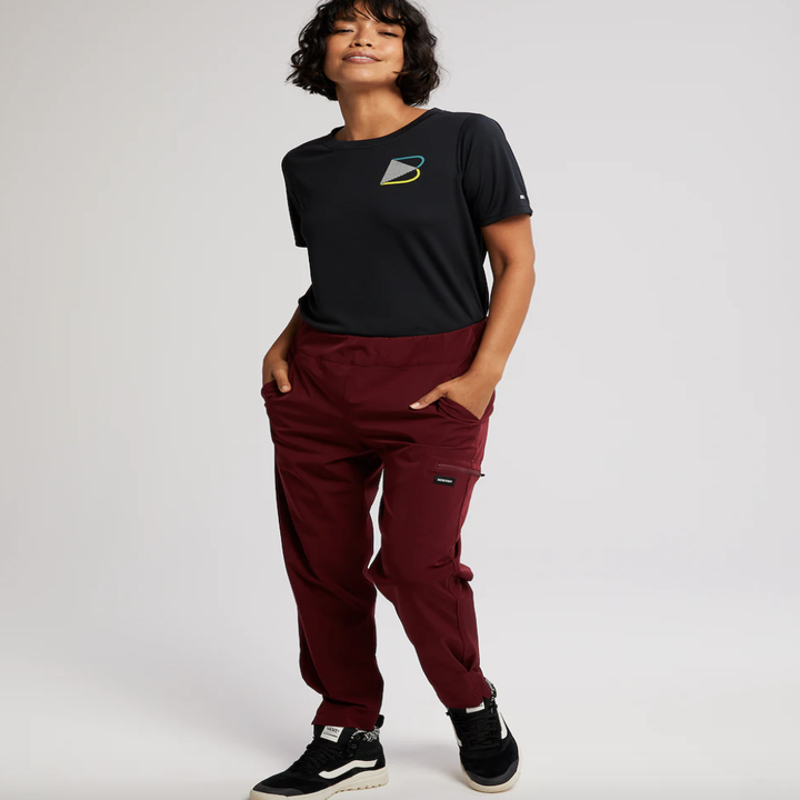 the pants in berry