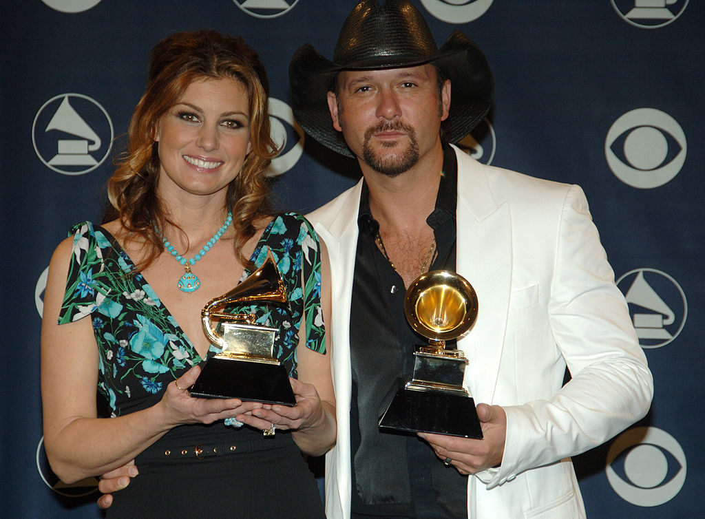 posing with their grammys