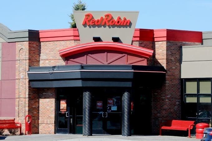 A Red Robin store front