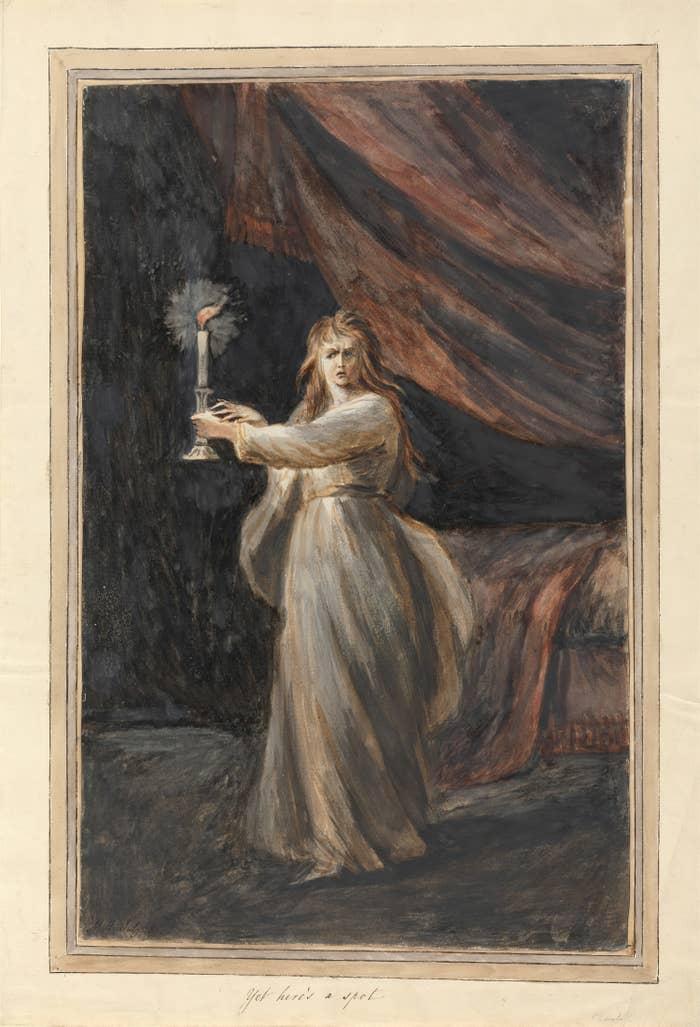 Lady Macbeth, Sleepwalking