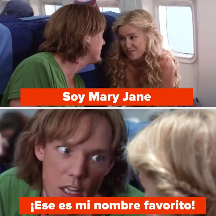 Shaggy says Mary Jane is his favorite name