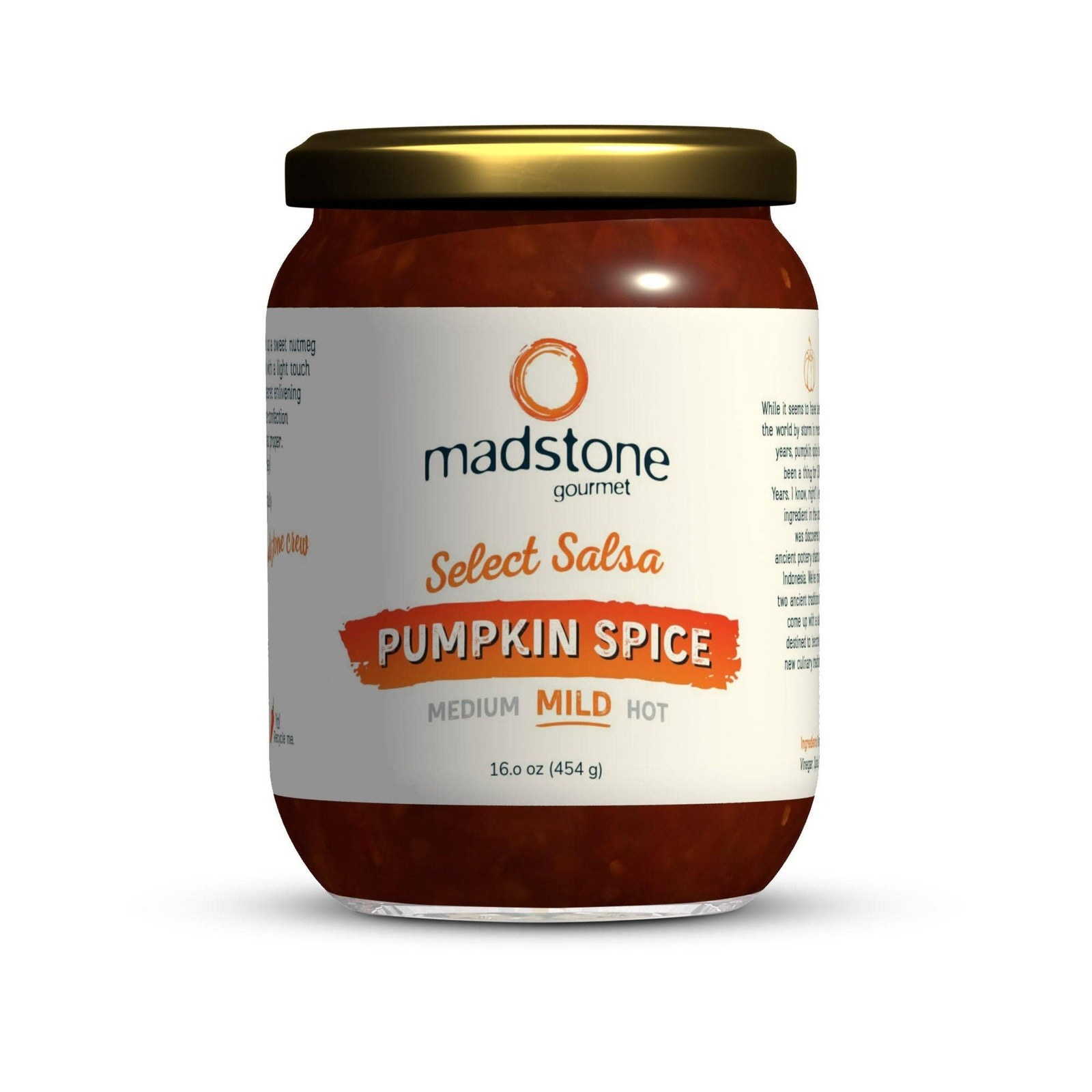 Pumpkin spice mild salsa
