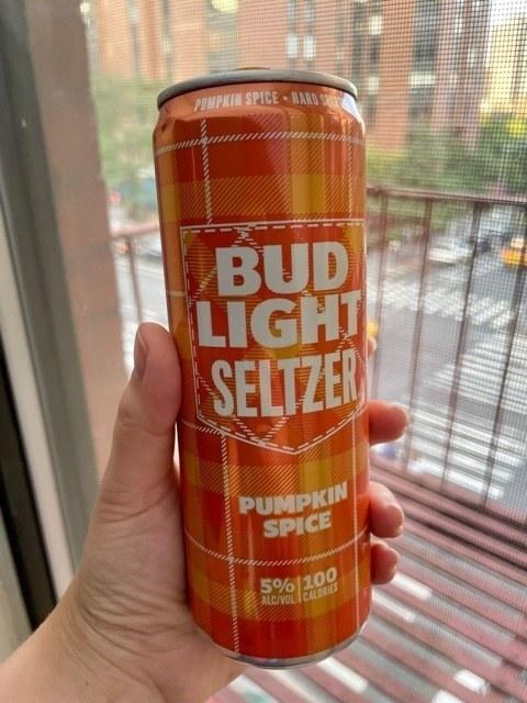 Bud Light pumpkin spice seltzer