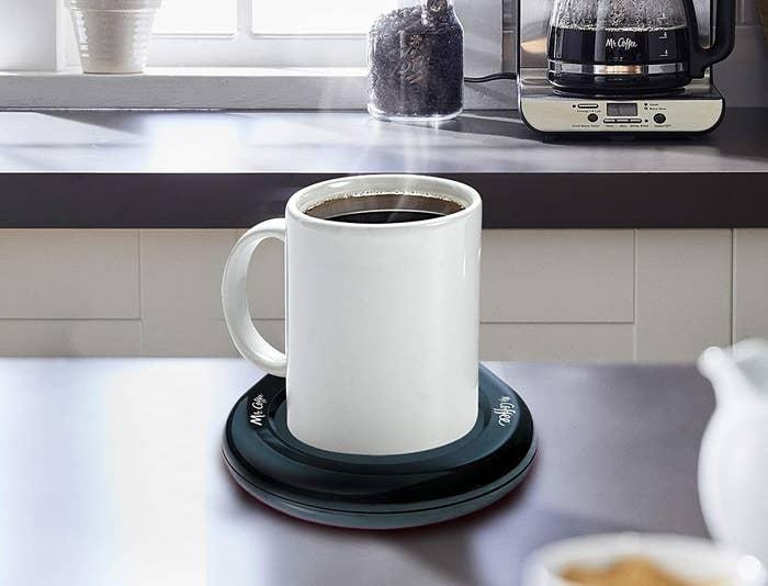 Calentador de tazas de café