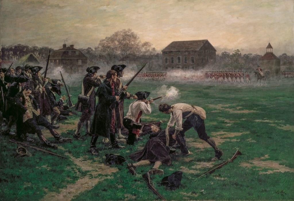 battle in the revolutionary war