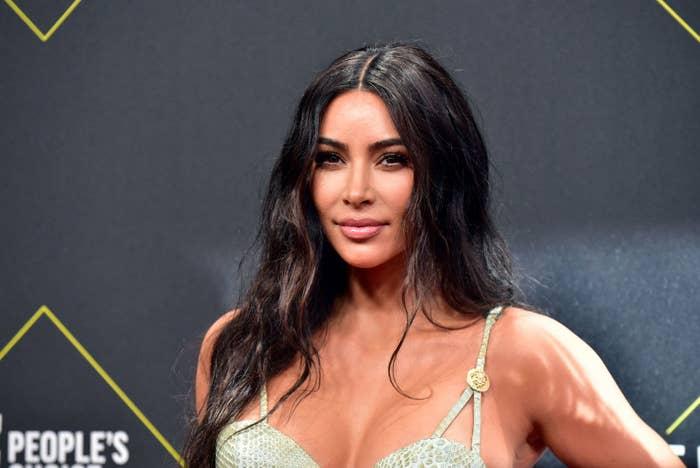 Kim at the People's Choice Awards