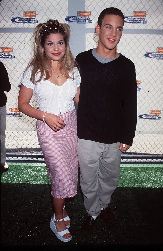 ben savage and danielle fishel at the kids choice awards