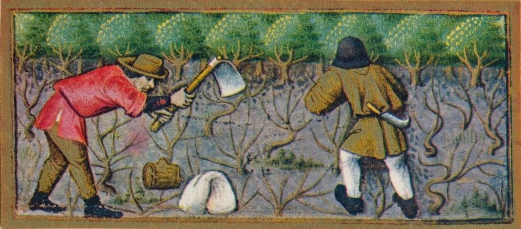 peasants farming