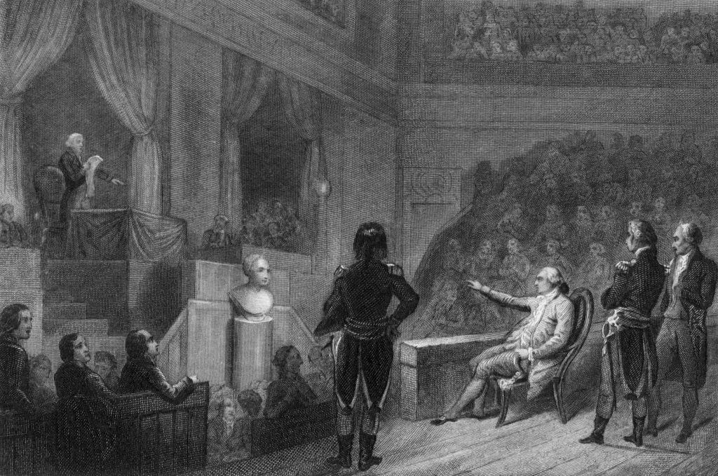 Henry's trial