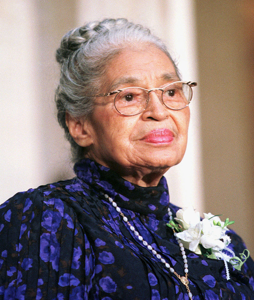Rosa Parks in 1999