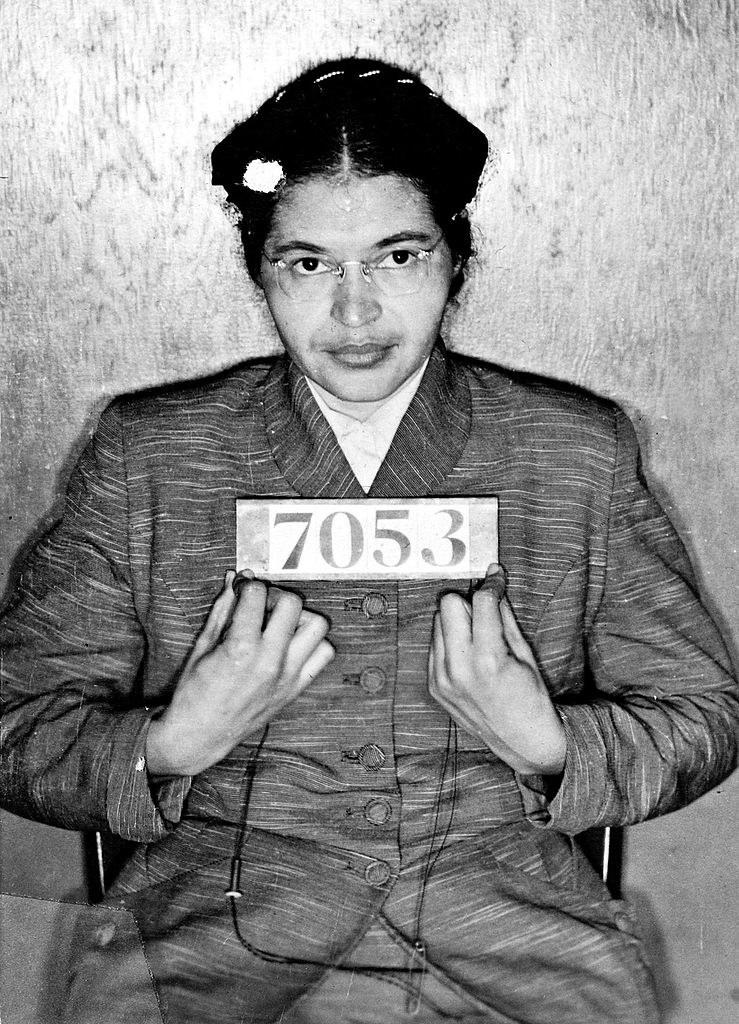 Rosa Parks' mugshot