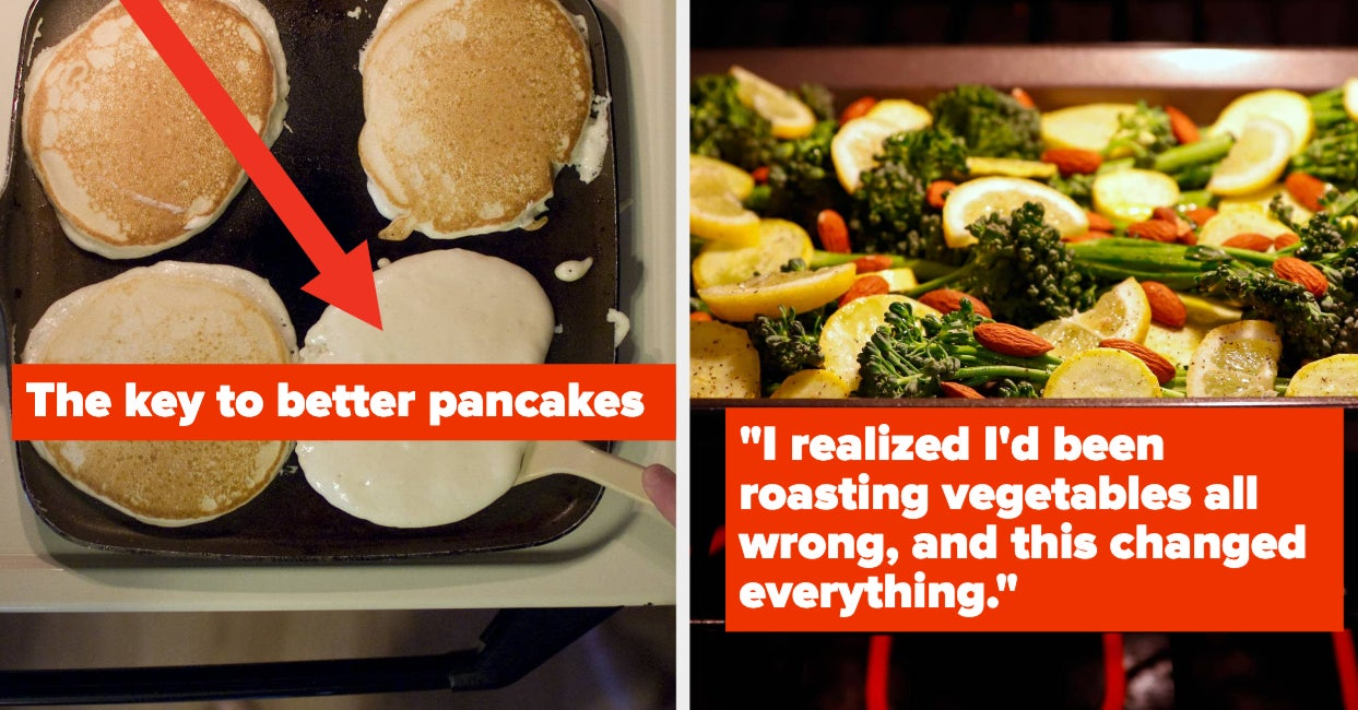 People Are Sharing The Tips And Tricks That Actually Made Them Better Home Cooks, And I Completely Agree With Most