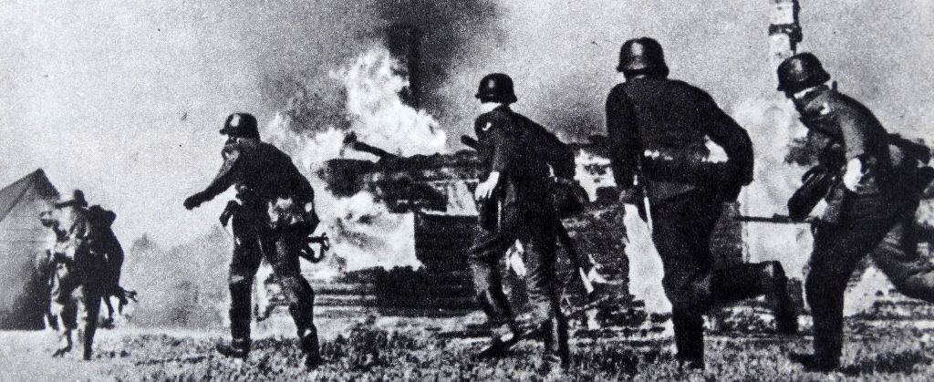 the germans invading russia in world war ii