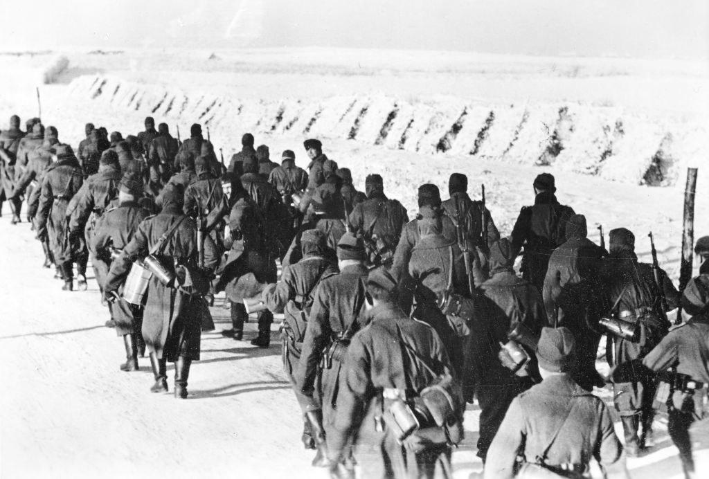 the germans in russia in winter in world war ii