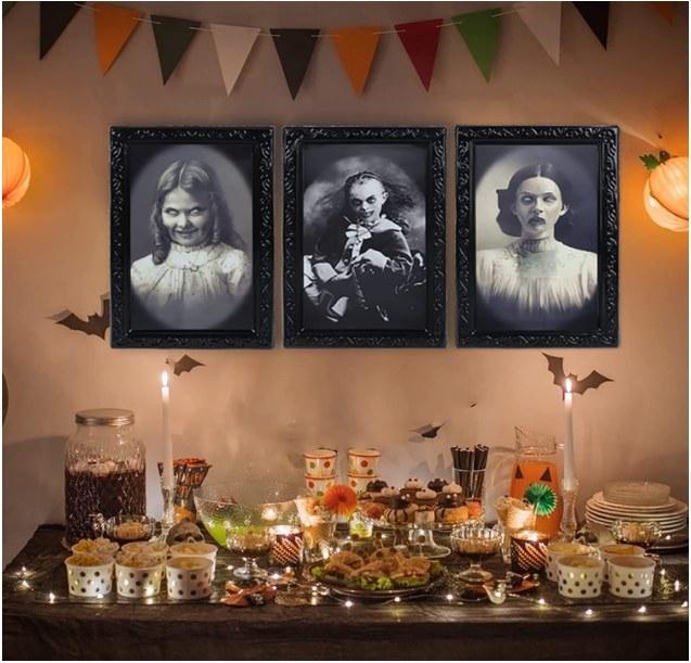 Foto de cuadros decorativos con temática de halloween