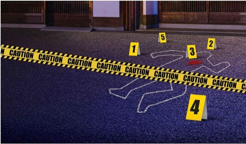 Foto de decoración de escena de crimen