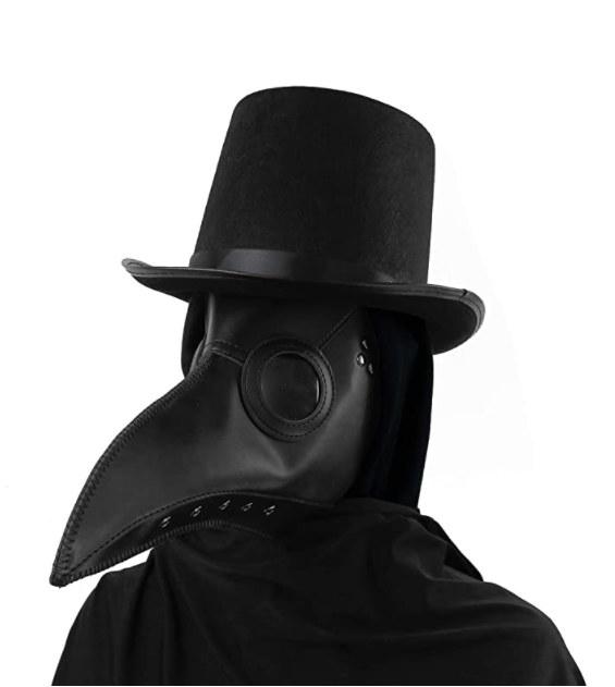 Foto de mascara de peste para Halloween