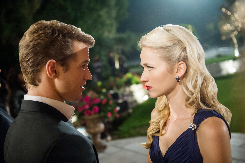 Anna and Adam share a tense moment