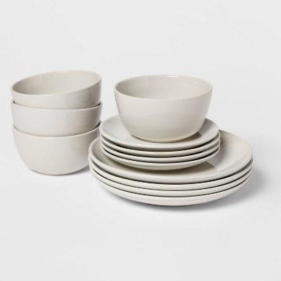 12-piece dishware set