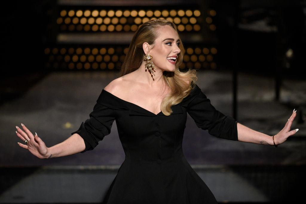 A slimmer Adele hosting Saturday Night Live