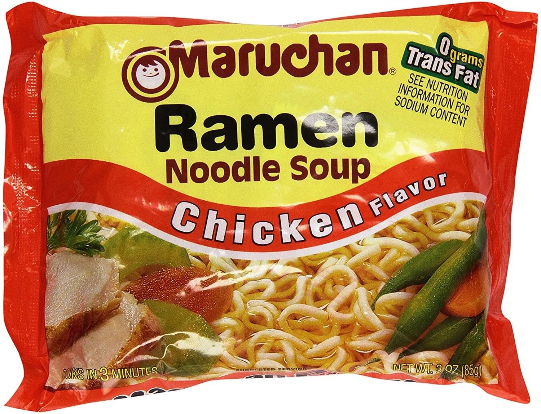 Sopa Maruchan pollo