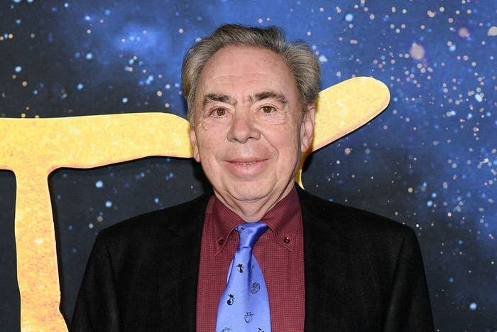 """Andrew Lloyd Webber attends the world premiere of """"Cats"""""""