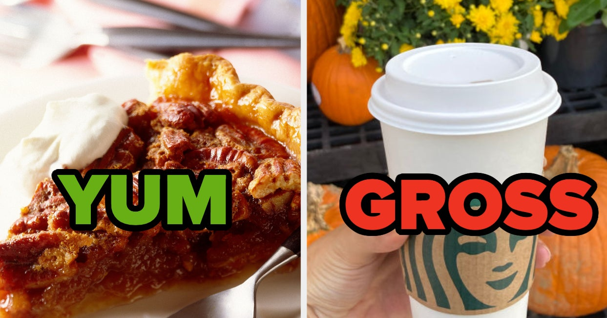 Here Are A Whole Bunch Of Fall Flavors I Love — Tell Me If I'm Deliciously Right Or Disgustingly Wrong