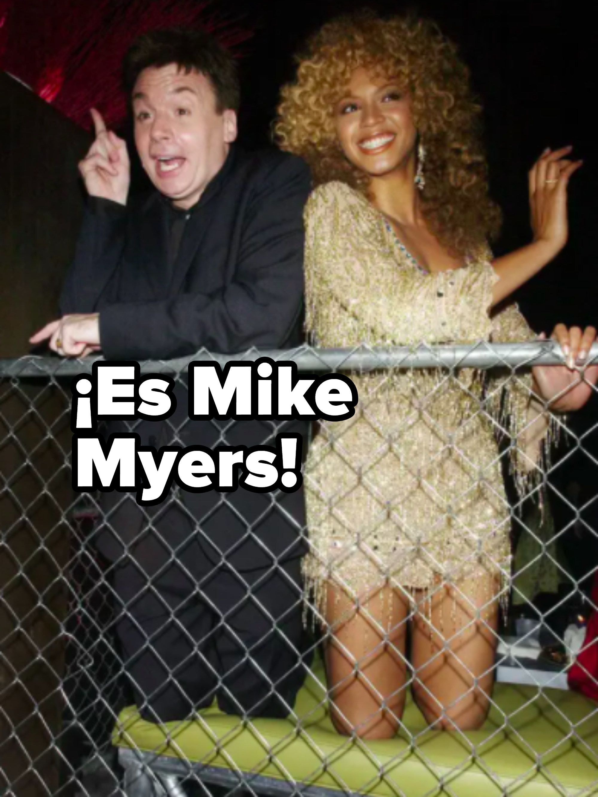 spoiler: it's mike myers