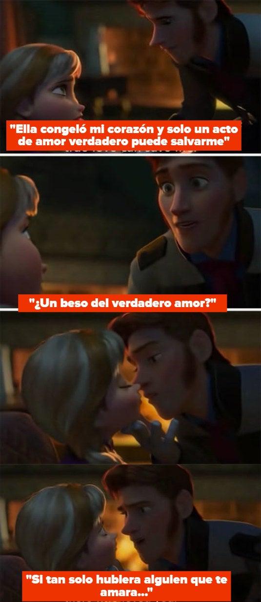 "Hans betraying Anna on ""Frozen"""