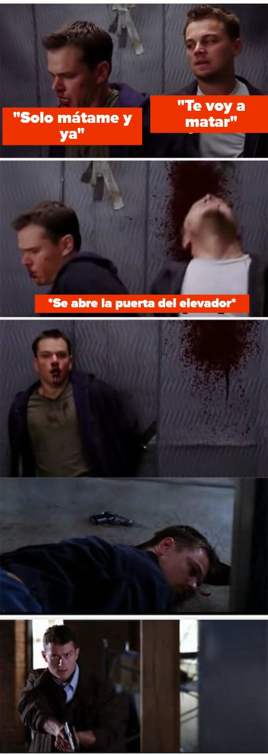 """Sullivan shooting William on """"The Departed"""""""