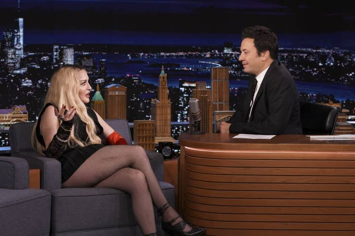 Madonna and Jimmy Fallon