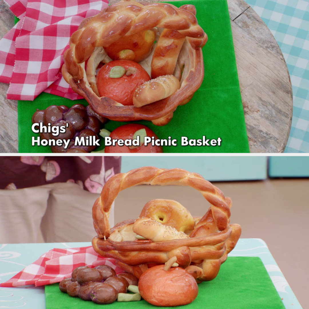 Chigs' picnic basket sculpture