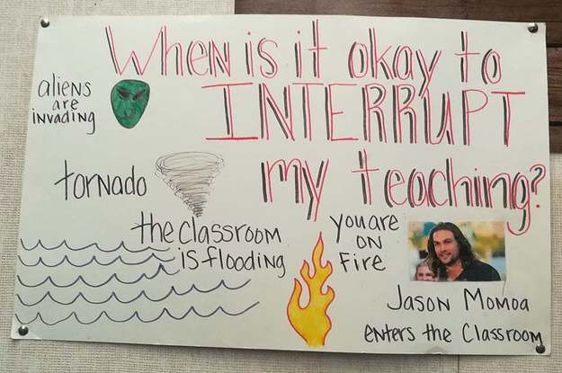 15 Teachers Who Perfectly Curated The Signs In Their Classrooms