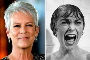 Jamie Lee Curtis and Janet Leigh