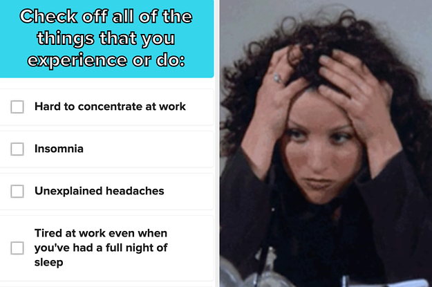 If You Experience 24/35 Of These Things, Then You're Extremely Burnt Out