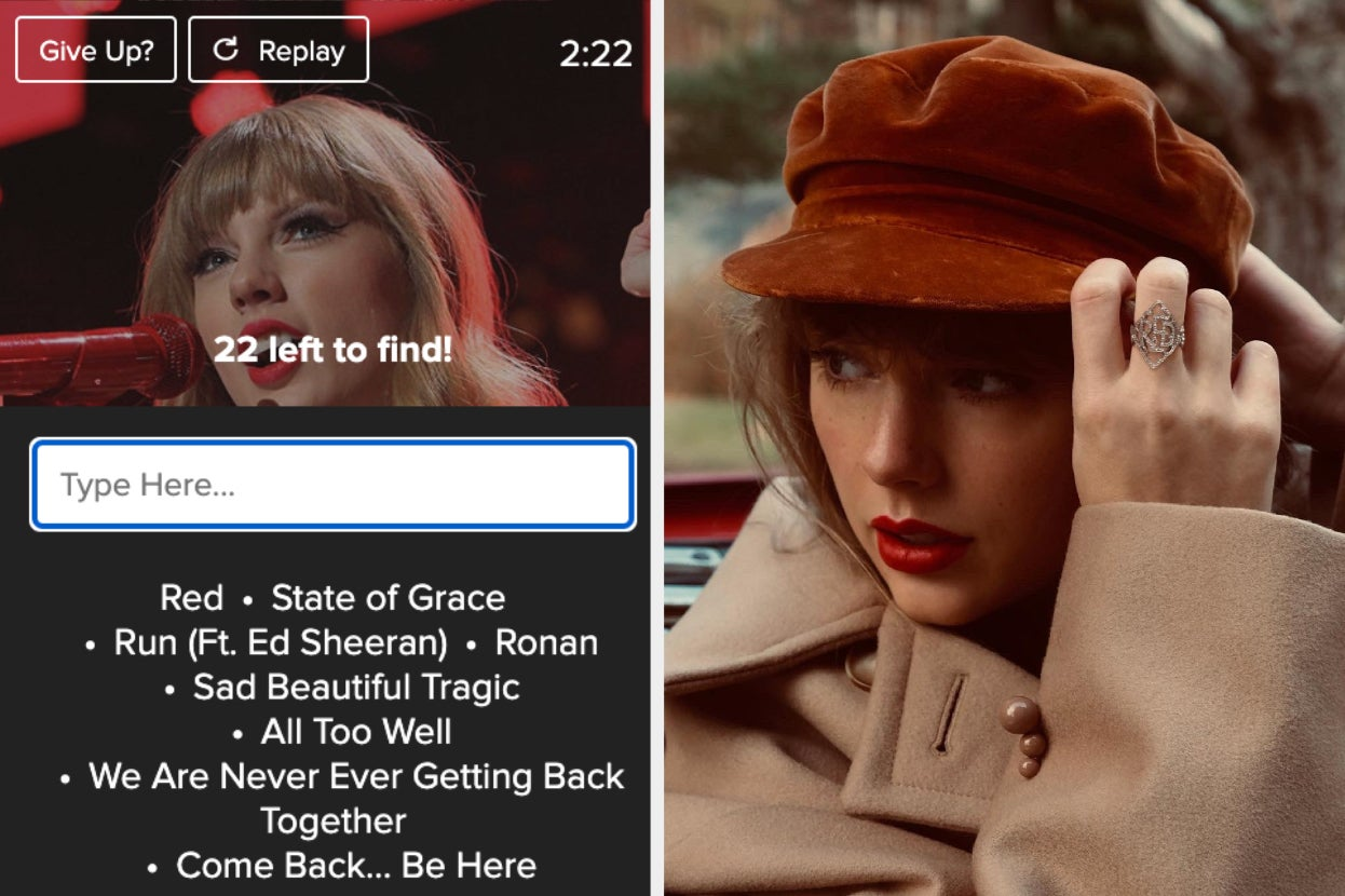 """Can You Name All 30 Songs On """"Red (Taylor's Version)""""?"""
