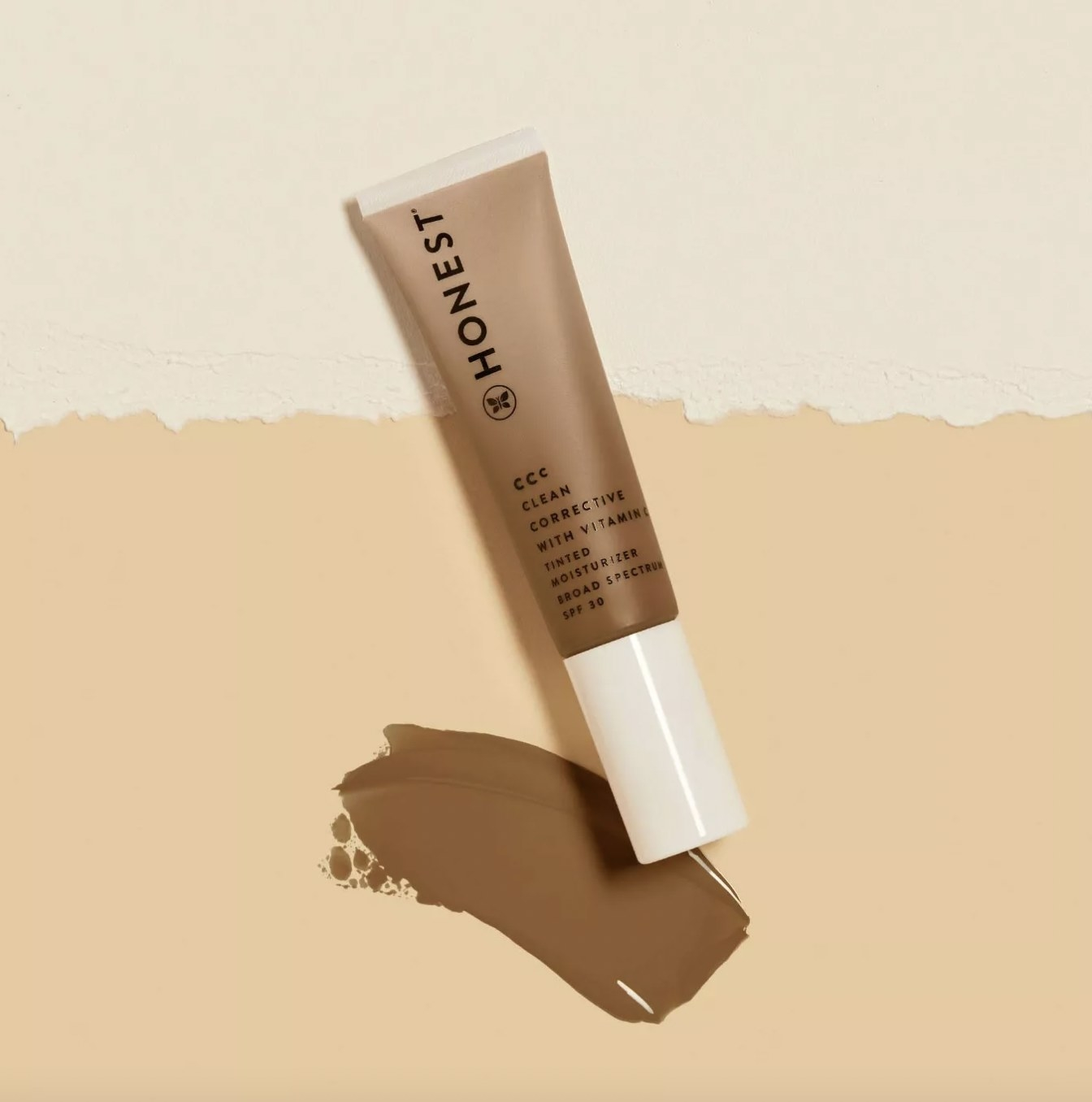 A tube of tinted moisturizer