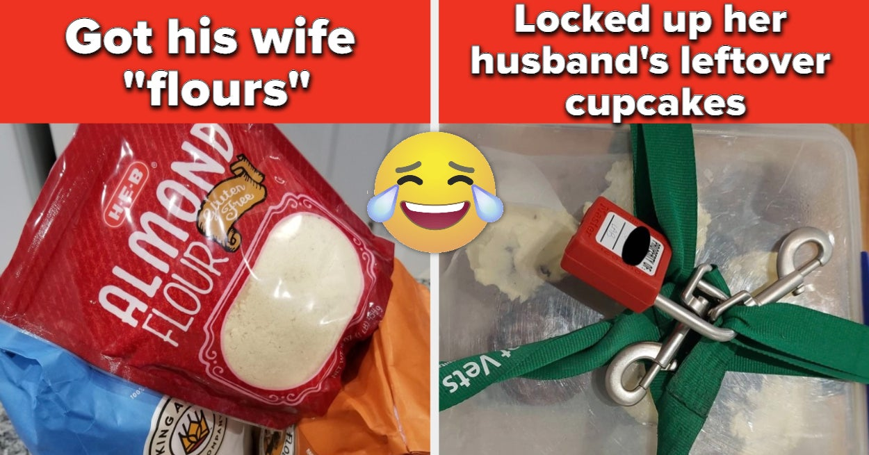 15 Husbands And Wives Who Trolled Each Other Into Absolute Oblivion