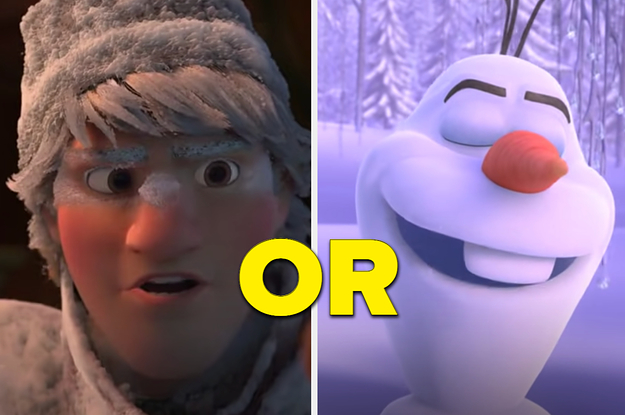 Sure, You're A Kind Person, But Let's See If You're As Kind As Olaf Or Kristoff