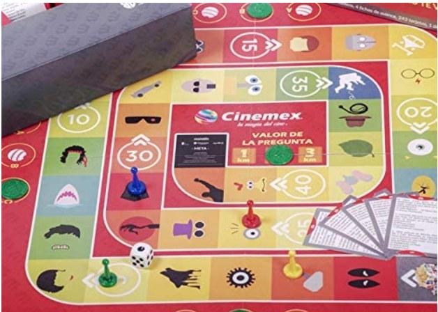 Imagen del juego de maratón cinemex