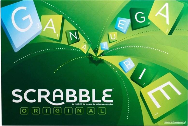 Foto del juego de Scrabble original