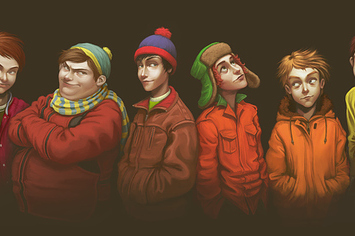 Not south park kenny - 3 6