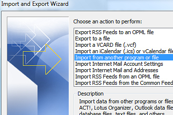 How To Import Pst File In Outlook 2010
