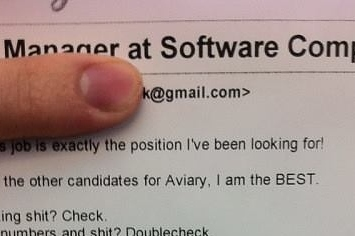 Is This The Best Cover Letter Of All Time