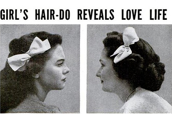 Hairdo dating cues 1944