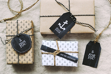 51 Seriously Adorable Gift Tag Ideas